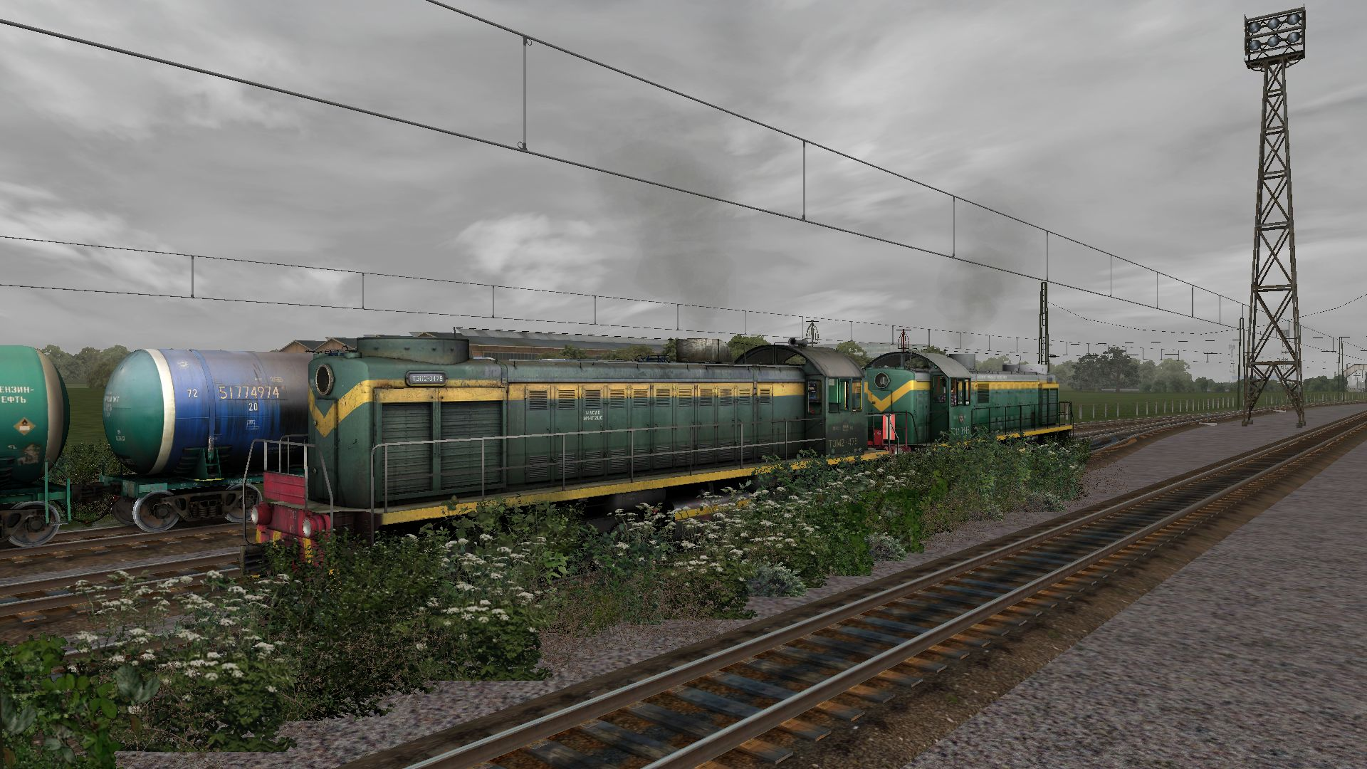Add-on for RailWorks: Shunter TEM2 pack #1 - Addons for
